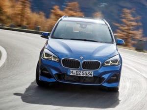 BMW Série 2 Gran Tourer sur la route est très confortable