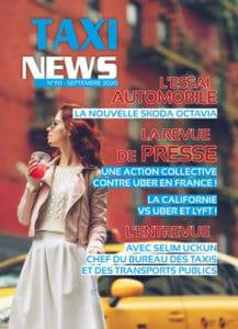 magazine TAXI News de septembre 2020